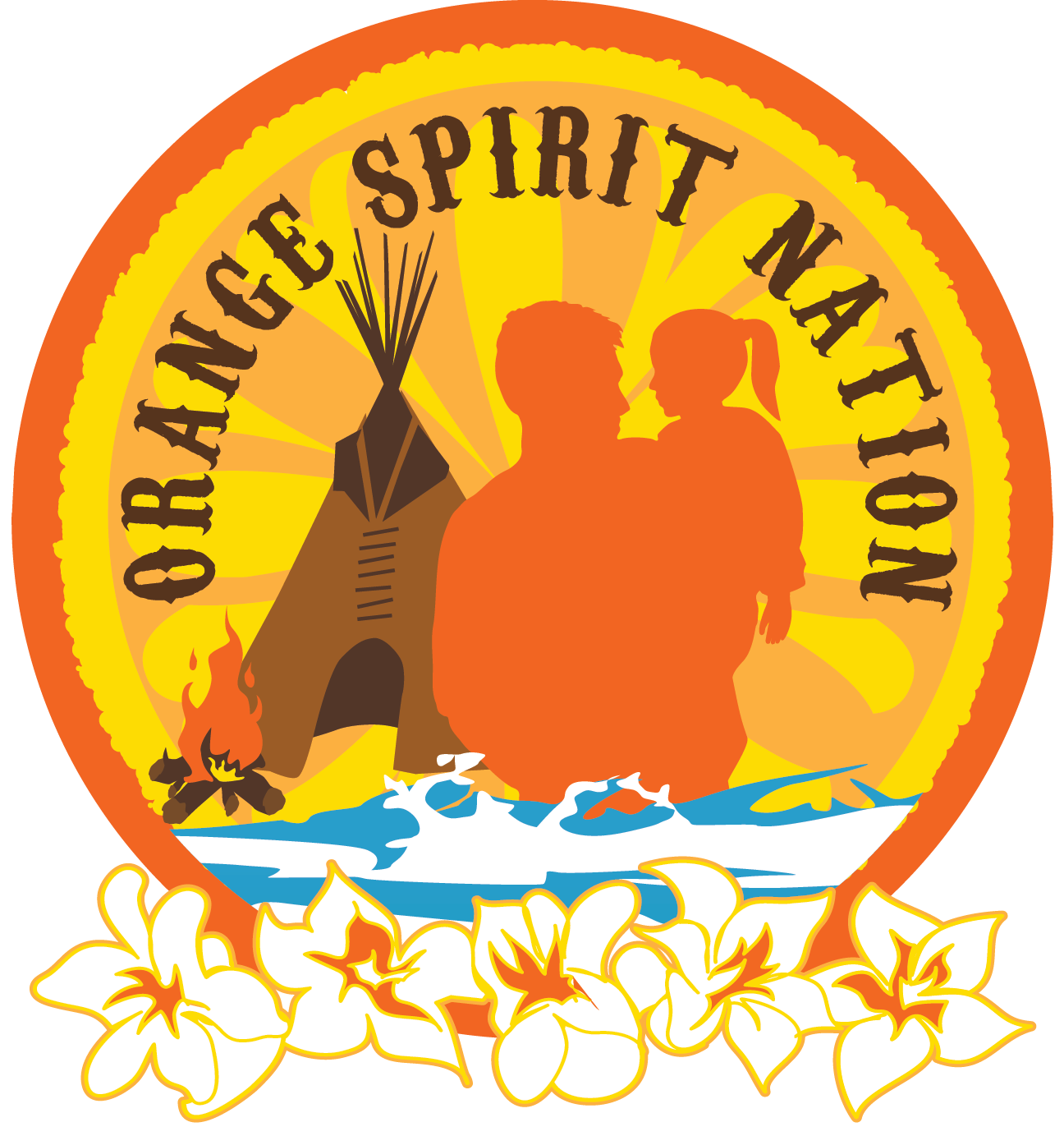 Orange Spirit Nation Native Daughters Program